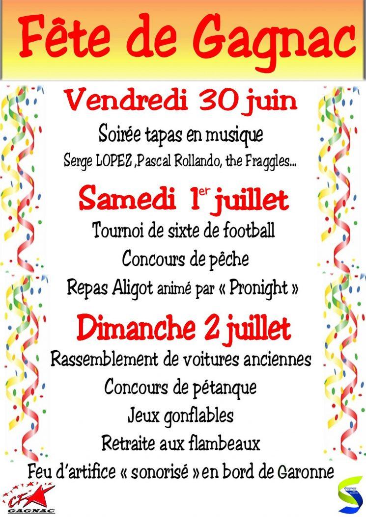 Fête locale de Gagnac