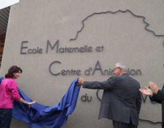 Inauguration du centre de loisirs et de l'école maternelle - 2017
