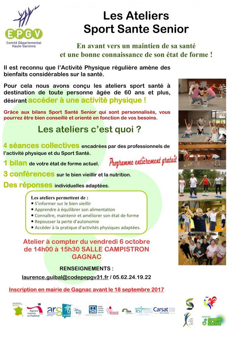 Ateliers Sport Santé Seniors