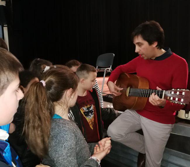 Atelier guitare avec Sébastien Llinares