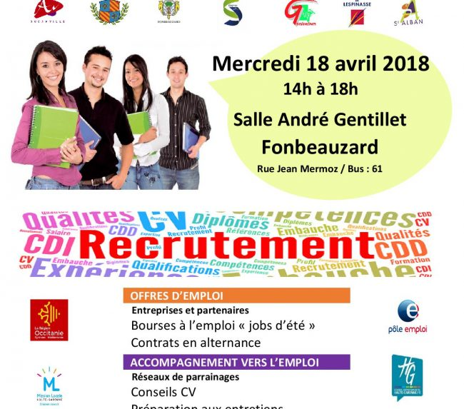 1er Forum Intercommunal Emploi Jeunesse 31