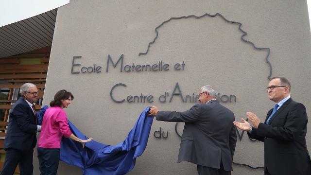 Inauguration du centre de loisirs et de l'école maternelle – 2017