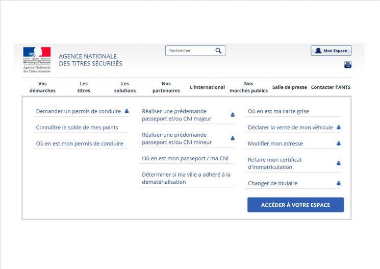Information administrative : les certificats d'immatriculation en ligne.