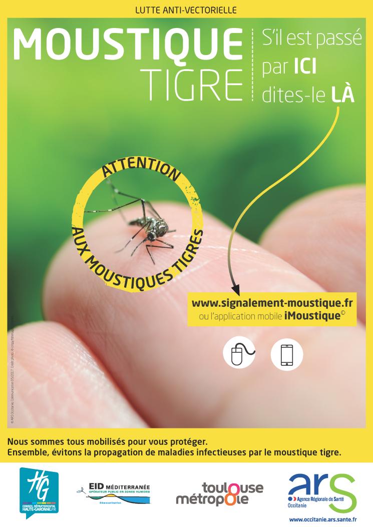 Lutte contre la propagation du moustique-tigre