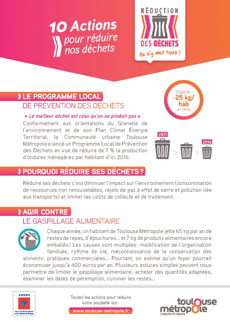 Objectif réduction des déchets