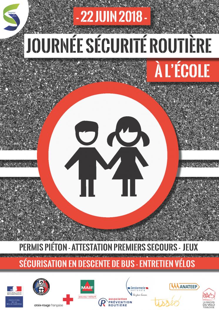 Journée sécurité routière à l'école