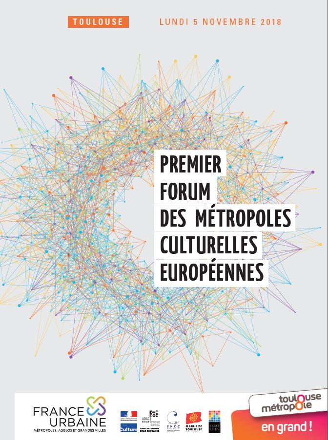 Forum des métropoles culturelles européennes