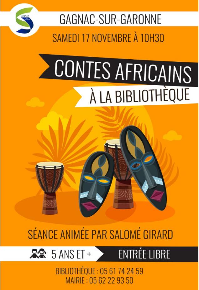 Contes africains à la bibliothèque