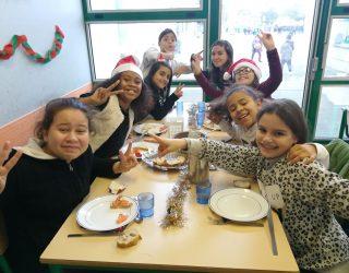 Photos du Repas de Noël à la cantine