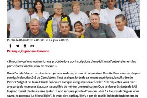 01 08 2018 Les 12 Heures De Gagnac Montre En Main Page 1