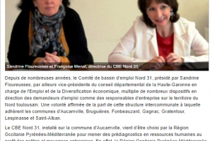 01 11 2018 Le CBE Choisi Par La Région Occitanie