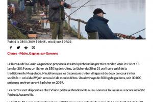 05 01 2019 Calendrier De La Pêche
