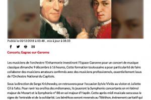 05 12 2018 Concert Et Solidarité