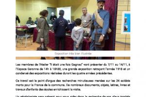 07 11 2018 1918 L'exposition Finale D'hommage Au..