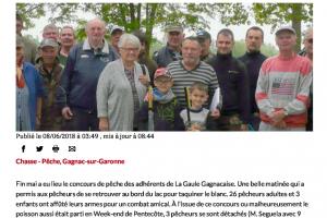 08 06 2018 Concours Amical De Pêche