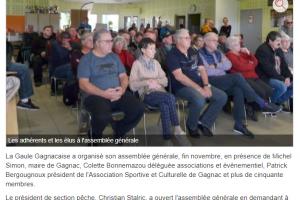 08 12 2018 La Gaule Gagnacaise Fait Son Assemblée Générale