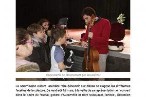 21 03 2018 Découverte De La Guitare Par Les éléves.. Page 1