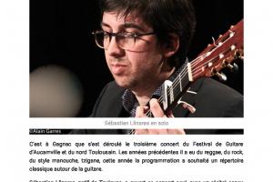 21 03 2018 Guitare Classique Sur La Scène De Gagna.. Page 1