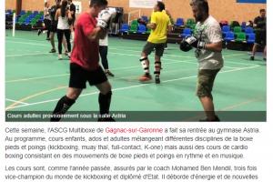 22 09 2018 Nouvelle Saison Pour L'ascg Multiboxe