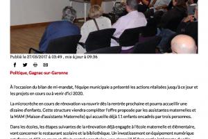 27 05 2017 La Mairie Présente Son Bilan De Mi Mandat Page 1