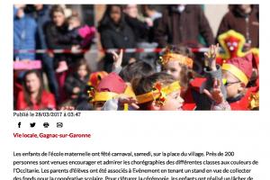 28 03 2017 Carnaval Sur La Place Du Village