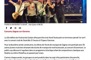 30 03 2017 Concert De Clôture Du Festival De Guitare