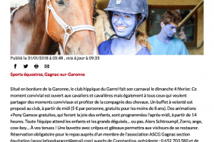 31 01 2018 Carnaval Au Club Du Garrel