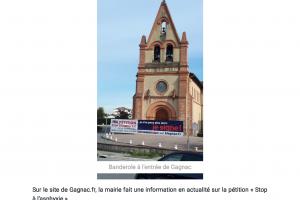 Gagnac Se Mobilise Pour La Pétition « S.. Page 1