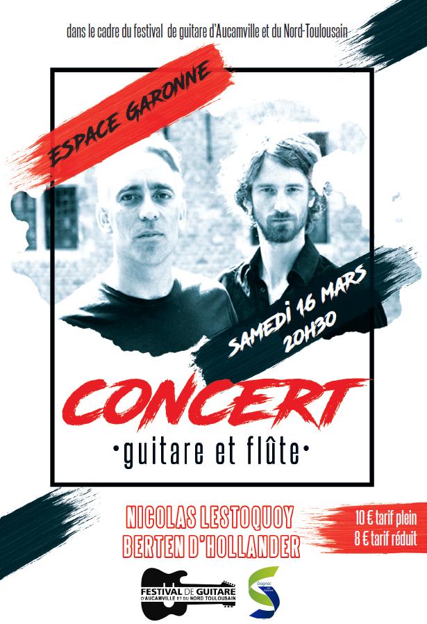 Concert guitare et flûte