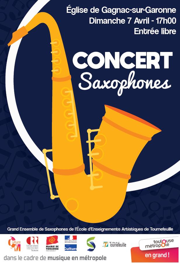 Concert Saxophones