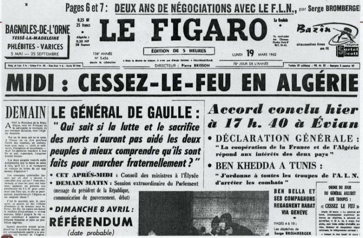 57e anniversaire du cessez-le-feu en Algérie