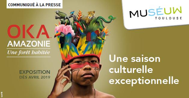 Museum : saison culturelle sur le thème de l'Amazonie