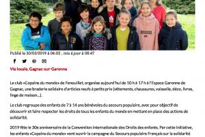 30 03 2019 Braderie Copains Du Monde