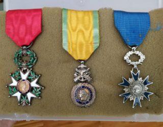 Cérémonie de la légion d'honneur