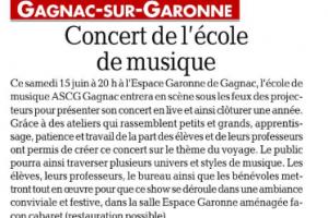 11 06 2019 Concert De L'école De Musique