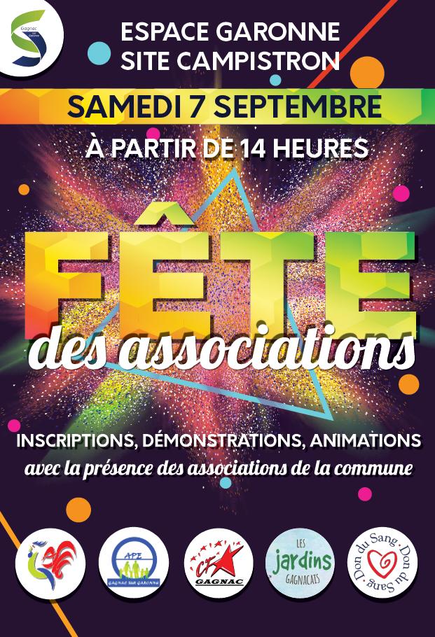 Fête des Associations samedi 7 Septembre