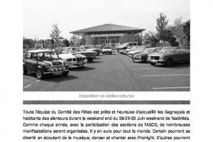 C'est La Fête à Gagnac – Le Petit Journal Page 1