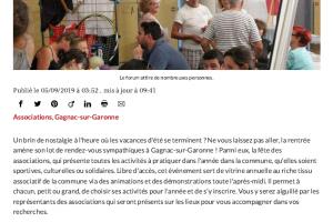 05 9 2019 Samedi, à La Découverte Des Associations