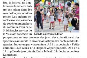 13 09 2019 Ces Enfants Fantastiques
