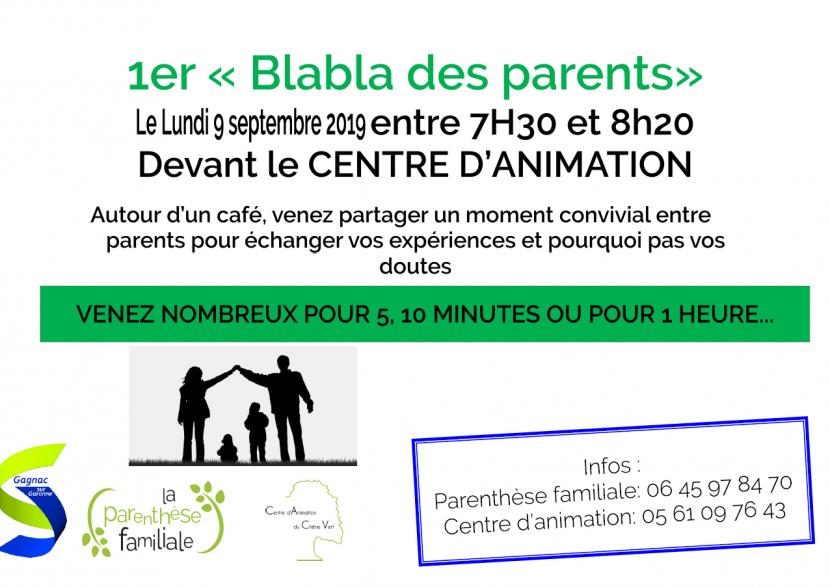 1er rendez-vous du Blabla des Parents