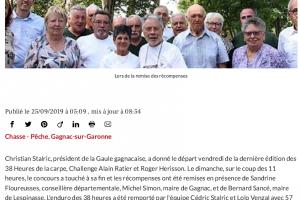 25 09 2019 Une Crpe De 15kg Aux 38 Heures De La Carpe