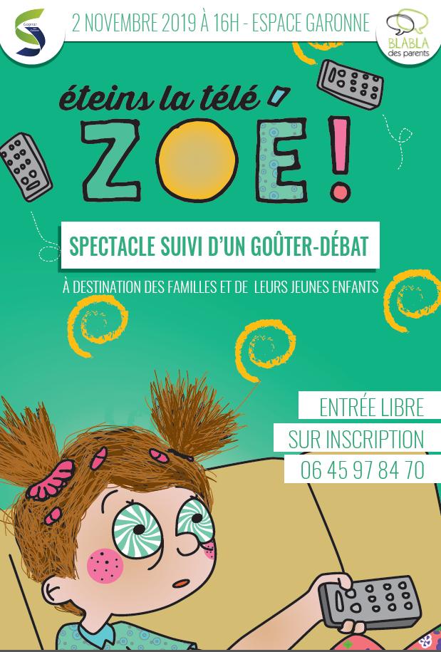 Eteins la télé, Zoé!