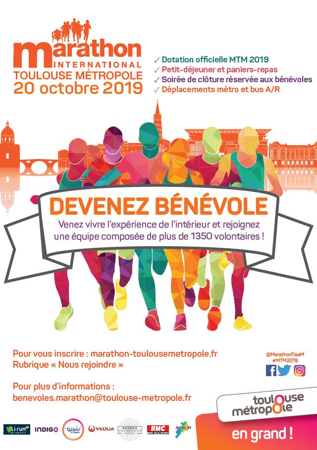 Marathon de Toulouse : devenez bénévoles!
