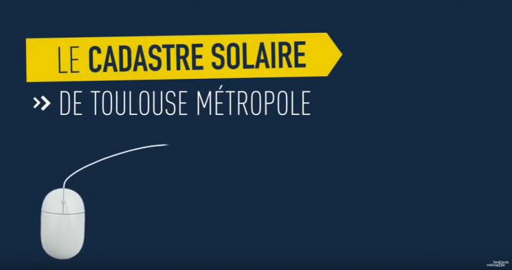 Le cadastre solaire Toulouse Métropole