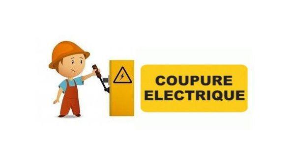 Coupure d'électricité !