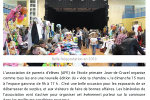 04 03 2020 Nouvelle Edition De «Vide Ta Chambre»