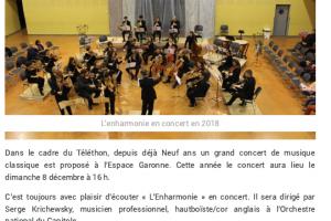 04 12 2019 Concert Classique Pour Le Téléthon P1
