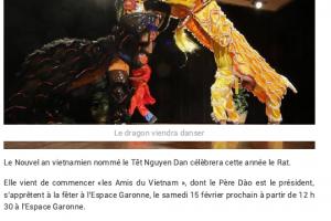 05 02 2020 Gagnac Fétera L'année Du Rat P1