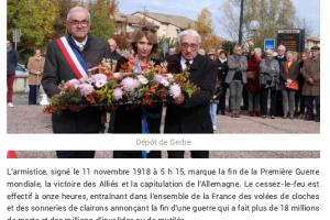 13 11 2019 Cérémonie émouvante Pour Ce 11 Novembre P1