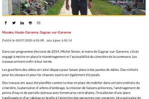 02 07 2020 Le Cimetière Fait Peau Neuve.